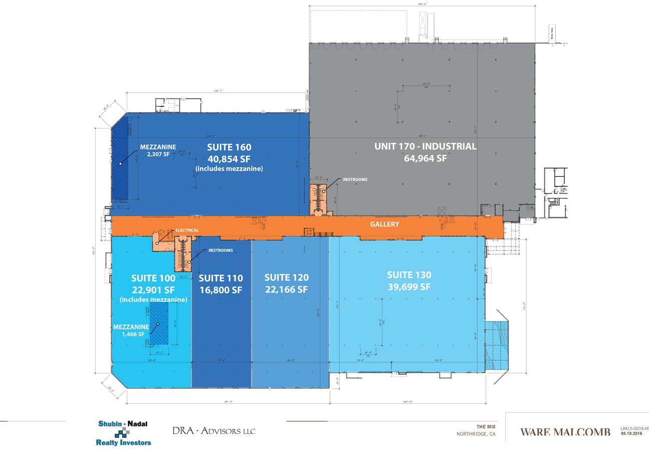 The Mix Site Plan