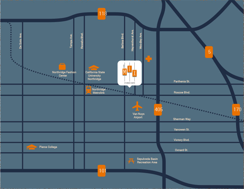 The Mix Campus Map